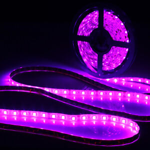 0-5-5m-5050-SMD-UV-Ultravioleta-Impermeable-Flexible-Tira-de-Luz-LED-Lampara