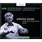 Brahms: Symphonies Nos. 2 & 4; Bruckner: Symphony No. 8 (2013)