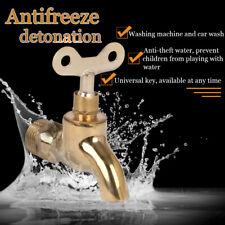 ZincAlloy Chrome Garden Washing Machine Water Tap Faucet/& L7Q3