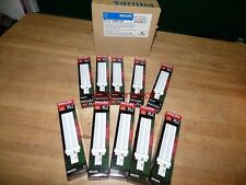 LOT OF 10 NEW-IN-BOX PHILIPS PL-C 18W/35 LIGHT BULBS 4-TUBE 2-PIN 340083