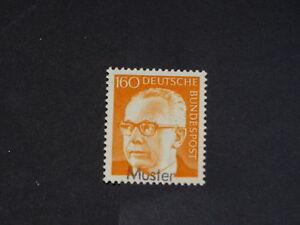 Bundesrepublik Mi.-Nr. 692 Heinemann 160 postfrisch als Mustermarke - Deutschland - Bundesrepublik Mi.-Nr. 692 Heinemann 160 postfrisch als Mustermarke - Deutschland
