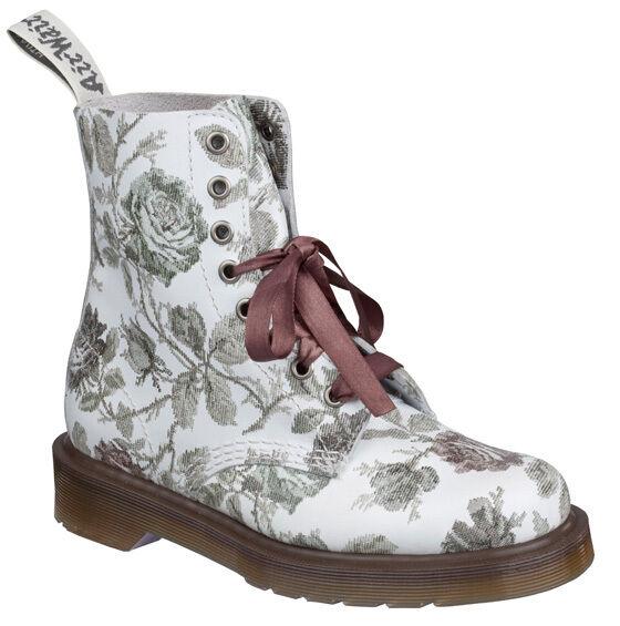 Dr.Martens Schuhe 8Loch 8Loch Schuhe Damen Stiefel Blumenmuster 6e2312