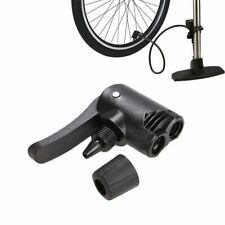 1Pc Bicycle Pump Nozzle Hose Adapter Black Schrader Valve Pump Accessories  NSH