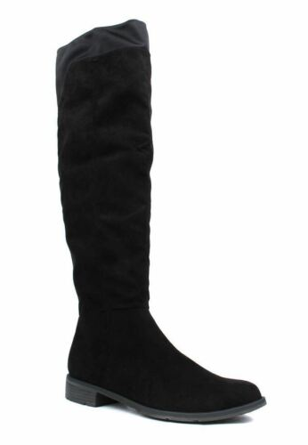 38 Eu Suede Uk Tozzi Faux Knee Boot 5 The Size Over Marco Black q4ZwW7