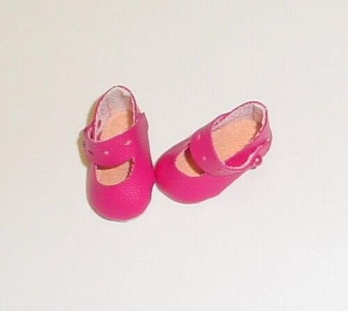 "25mm Fuschia Splendid Ankle Strap fit Kish Riley Doll Shoes 7 1//2/"" Ginny"
