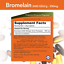 thumbnail 2 - NOW Supplements, Bromelain (Natural Proteolytic Enzyme) 2,400 GDU/g - 500...