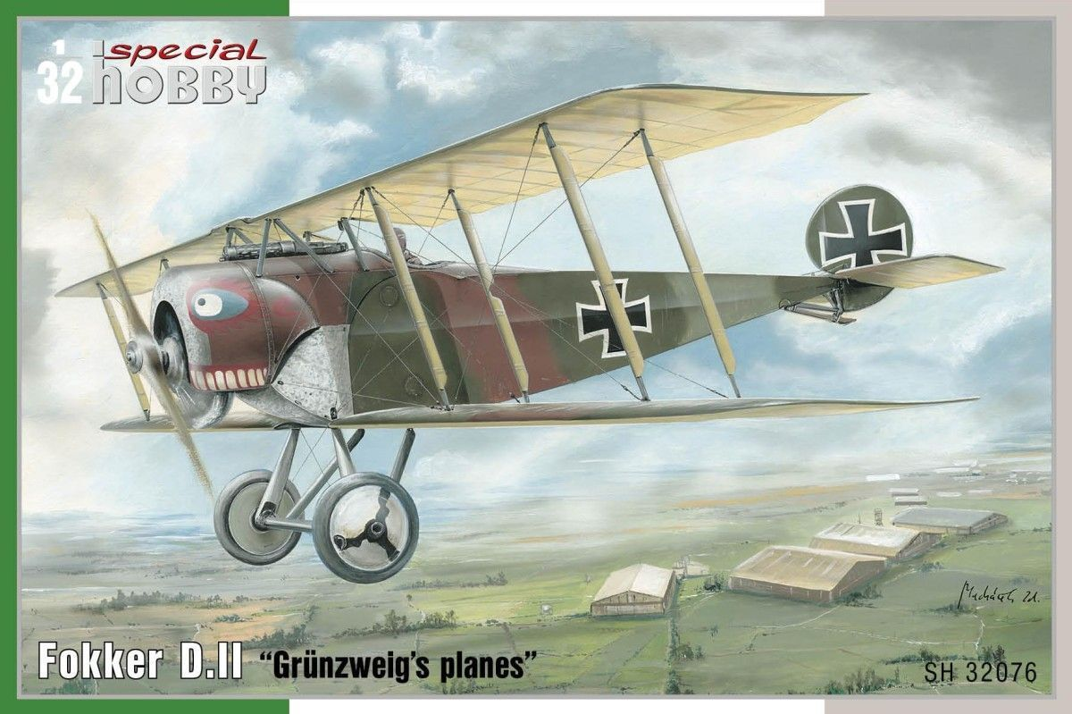 Special Hobby 1 32 Fokker D.II  Grunsweig's Planes