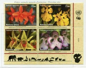 19729) United Nations (Geneve) 2005 MNH New Flowers + Lab