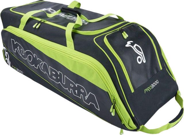 d1b06927c45 Kookaburra Pro 3000 Wheelie Cricket Kit Bag 2018 for sale online