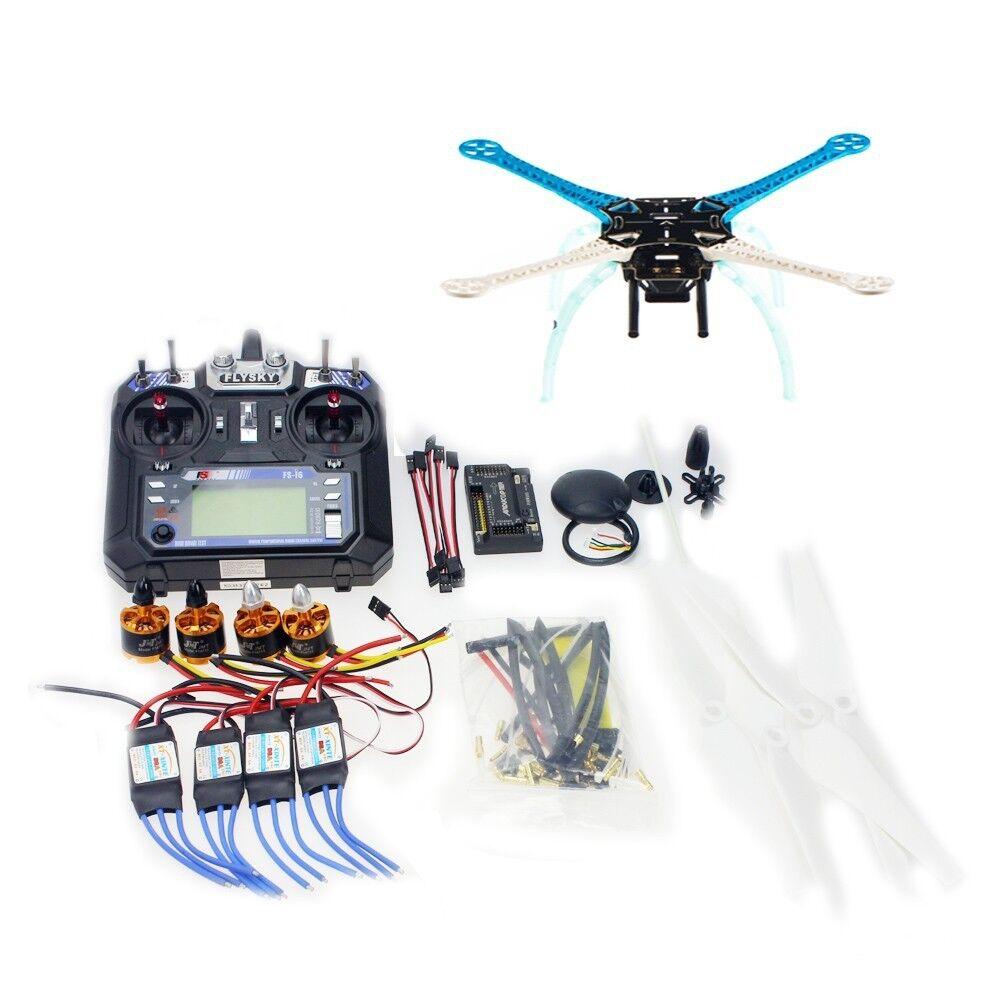 Diy - drohne multi - rotor - frame - s500 apm2.8 2.4g fs-i6 sender f08191-g