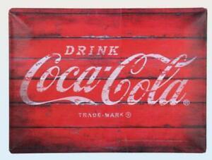 Tin-Sign-Coca-Cola-Trade-Mark-Nostalgia-Sign-40-cm-New-Metal-Shield