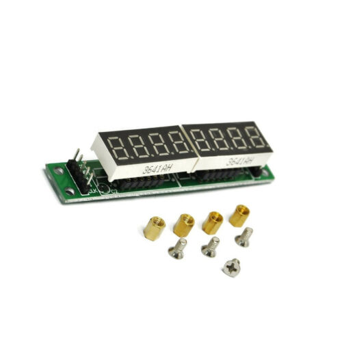 1PCS Red MAX7219 CWG 8-Digit Digital Tube Display Control Module M