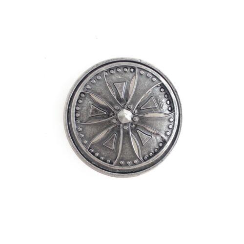 303-AN-SIL Men/'s Hip Hop Antique Silver Spinner Rim Rotating Axis Belt Buckle