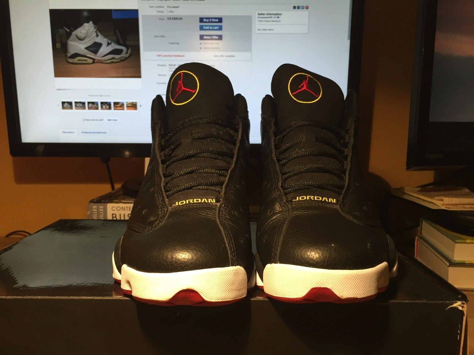 big sale b0ac4 aae11 ... Nike Air Jordan 13 Retro (Playoff) - - - Size 10.5 b0e584 ...