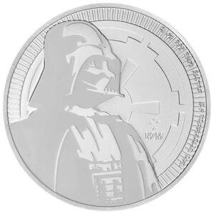 2017 Star Wars Darth Vader 1 Oz Coin New Zealand Niue Coin