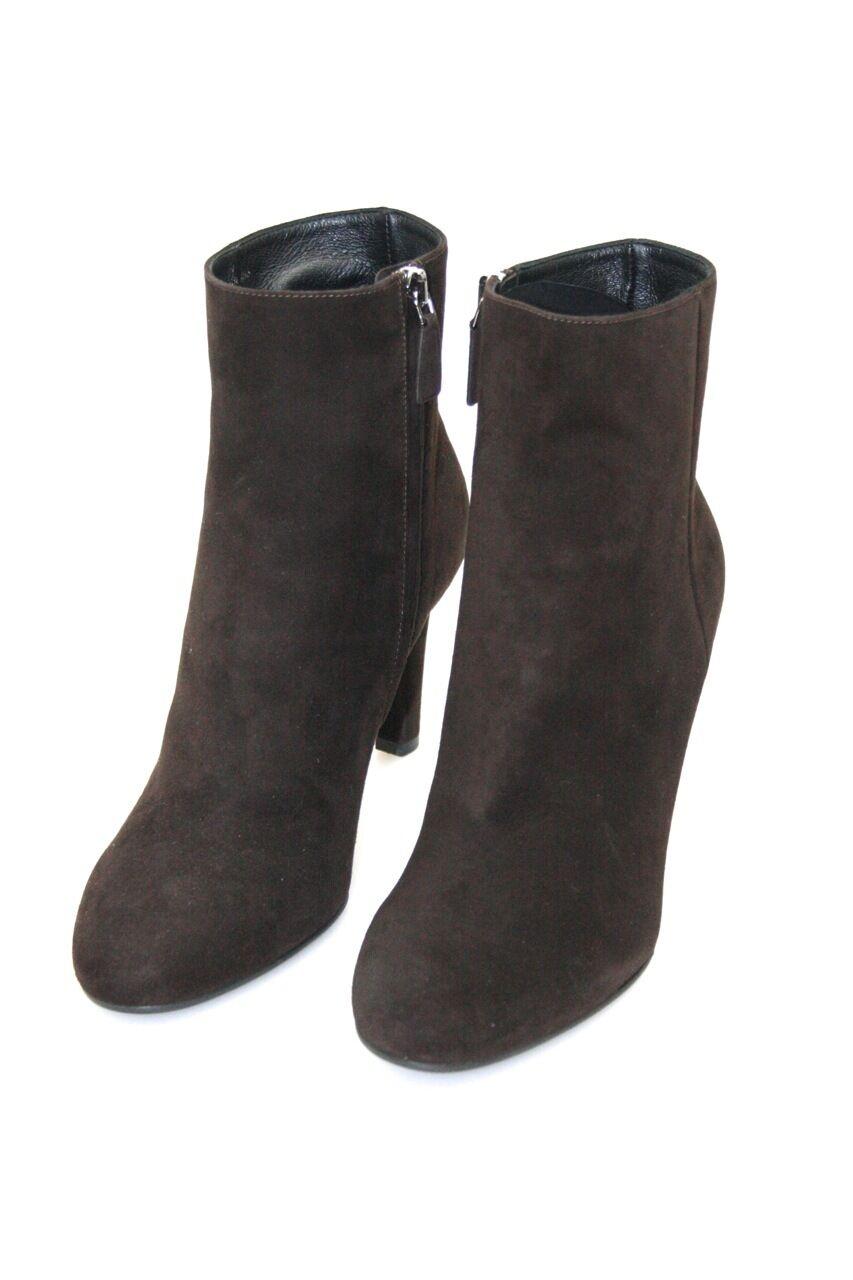 Lujo prada botín zapatos 1t516e moro nuevo New 36,5 37