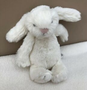 NEW-Jellycat-Tiny-Baby-Cream-Bashful-Bunny-Rabbit-Soft-Toy-Comforter-BNWOT