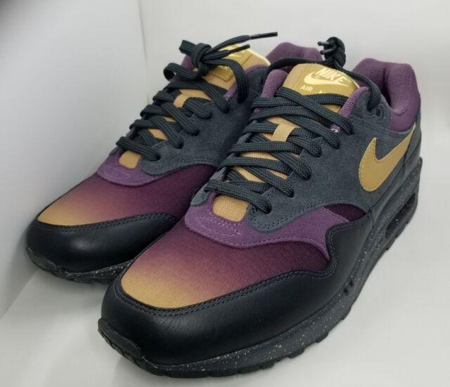 Air Purple 1 875844 Anthracite Pro Size Max Gold Shoes 002 10 Mens Premium Nike tQrBxosChd