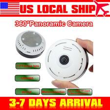 360 Degree Wireless IP Fisheye Camera Two Way Audio P2P 960P HD Wifi Cam US SHIP