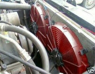 CHEVY CORVETTE ELECTRIC COOLING FAN KIT ADD MPG HP !