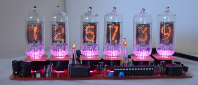 Nixie Tube Clock Kit For Z570M Z573M Z574M ZM1080 ZM1082 ZM1177 GN-9A Tubes