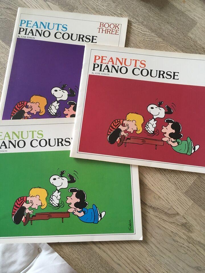Piano Course, Peanuts Book 1 - 2 - 3