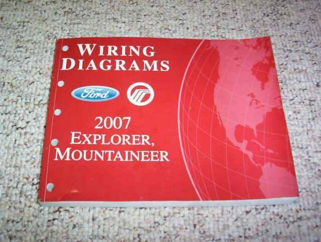 2007 Mercury Mountaineer Electrical Wiring Diagram Manual