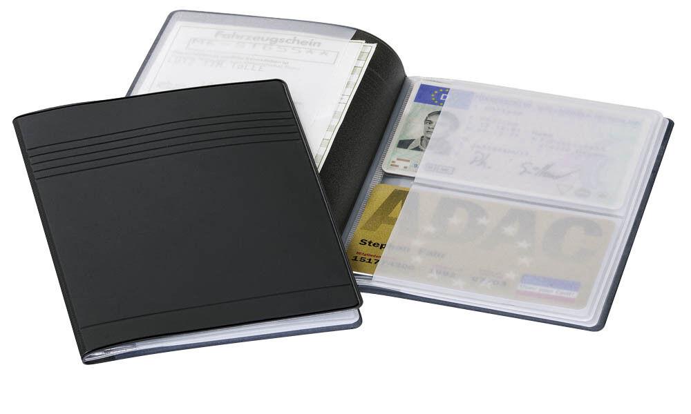 DURABLE Ausweis- und Kreditkartenhülle anthrazit