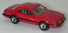 Matchbox 1987 T-Bird Turbo Coupe Red Side Decal oc14708
