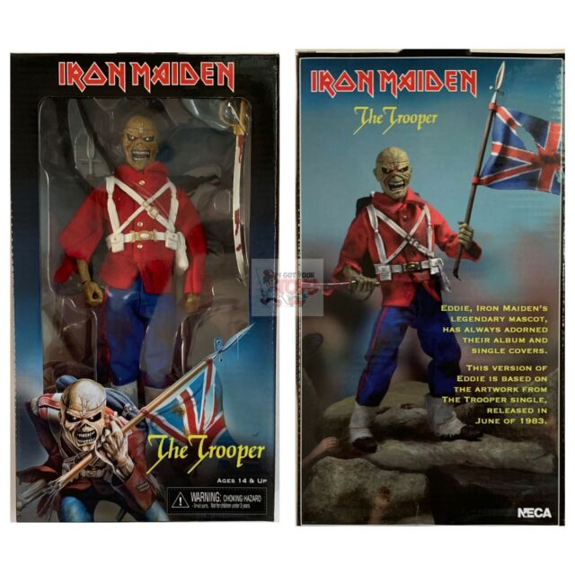 Neca-IRON MAIDEN-EDDIE Trooper Headknocker 8 pollici