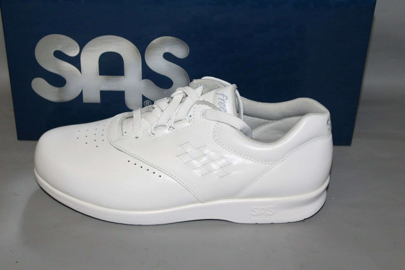 liquidazione fino al 70% NEW Donna  SAS SAS SAS Freetime bianca Leather Support   Comfort Shoe, Made in USA  grande vendita