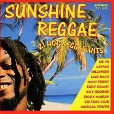 Sunshine Reggae (1992, Arcade) UB 40, Culture Club, Ziggy Marley, Sugar M.. [CD]