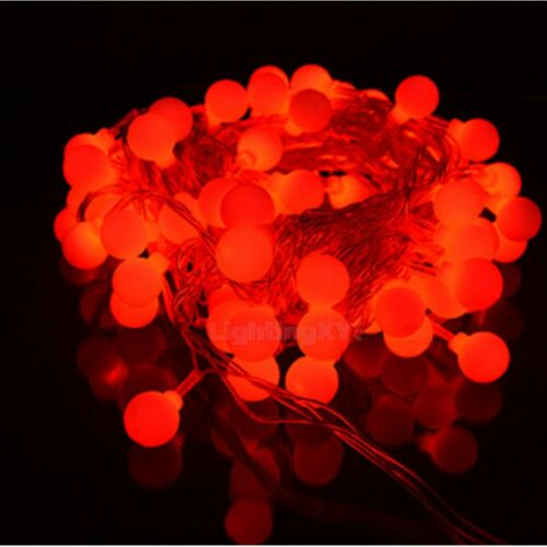 Battery Powered Red Berry Balls LED Christmas Wedding Fairy Lights 2M 20LED