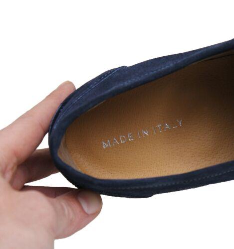 Schuhe Mokassins Herren Dunkelblau Casual Elegant Staubtücher Licht