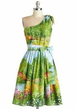 Bernie Dexter Ana dress Serenity Bridge Small S New NWOT Modcloth pinup rare