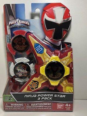 power rangers ninja steel - ninja power star pack, 43760 | ebay