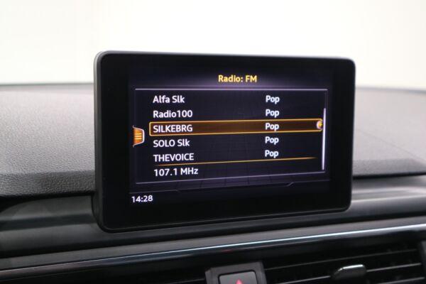 Audi A4 2,0 TFSi 190 Sport Avant S-tr. billede 8