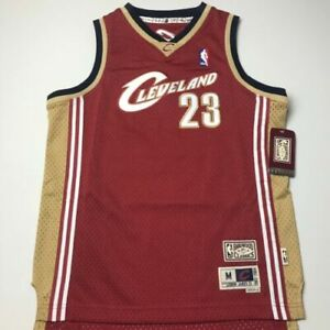 on sale 2c3a4 2fd8e Lebron James Mitchell & Ness Cleveland Cavaliers Throwback Youth Jersey Sz M