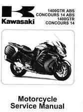 Digital 2010 - 2016 Kawasaki GTR1400 Concours 14 service manual