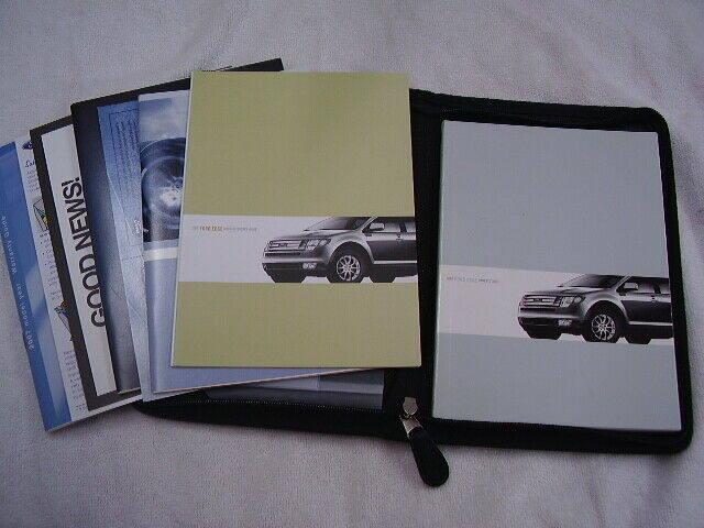 2007 Ford Edge Owners Manual Set