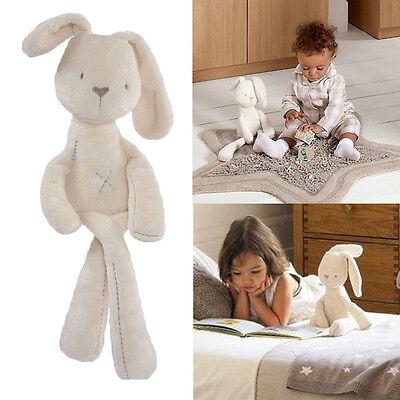 2015 Baby Kids Girls Gift Rabbit Bunny Sleeping Comfort Stuffed Plush Dolls Toys
