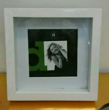 white square shadow box photo picture frame 5x59x9