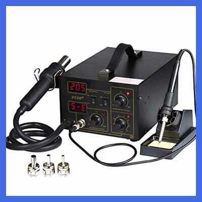 Digital Soldering Iron Station Hot Air Gun Rework Station 3in1// 2in1 SMD 110V