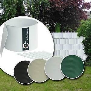 sichtschutz m tec hart pvc sichtschutzstreifen doppelstabmattenzaun zaunblende. Black Bedroom Furniture Sets. Home Design Ideas