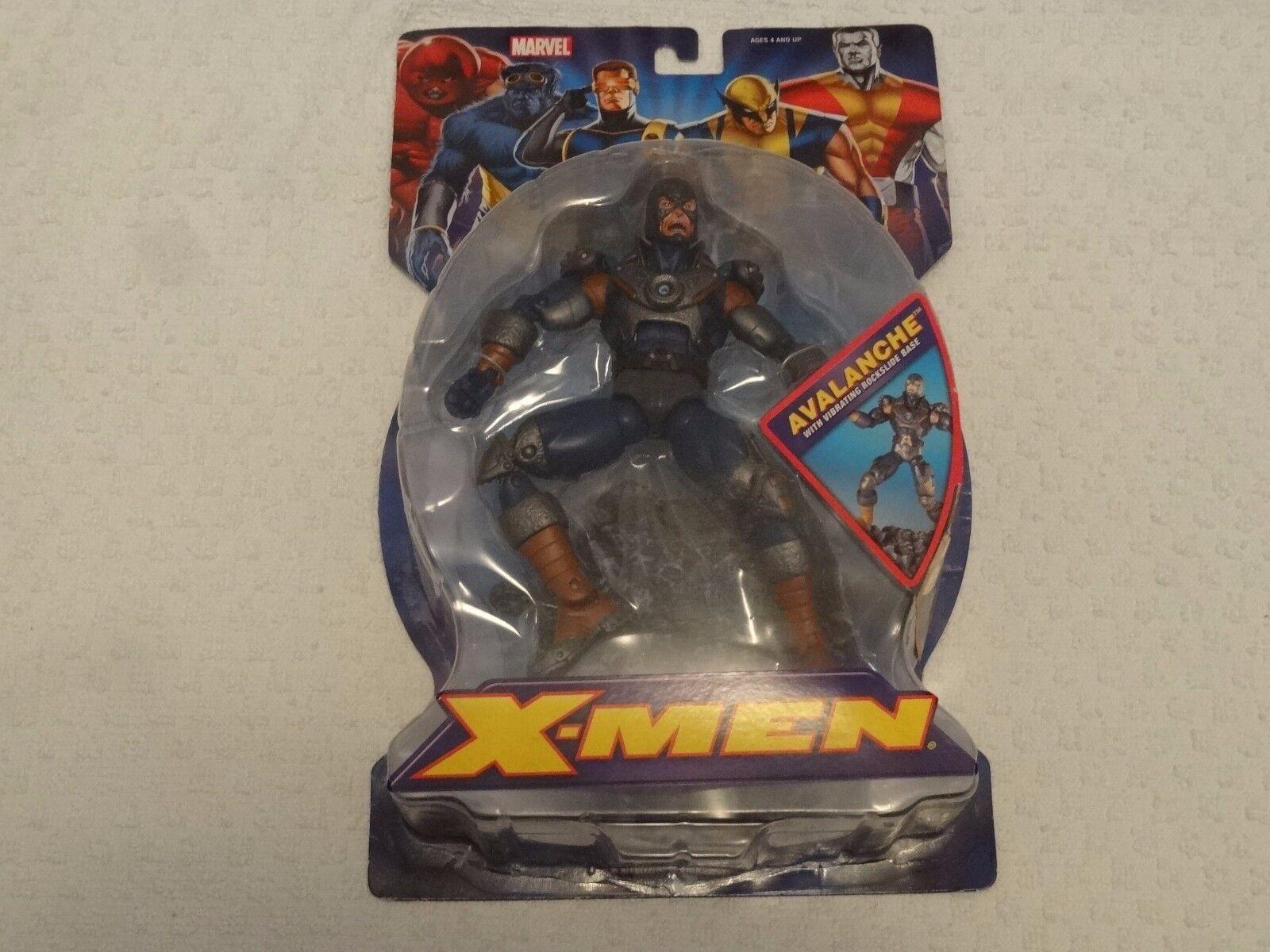 Raro X-men Avalanche Marvel Legends Figura De Acción De 2006 Juguetebiz