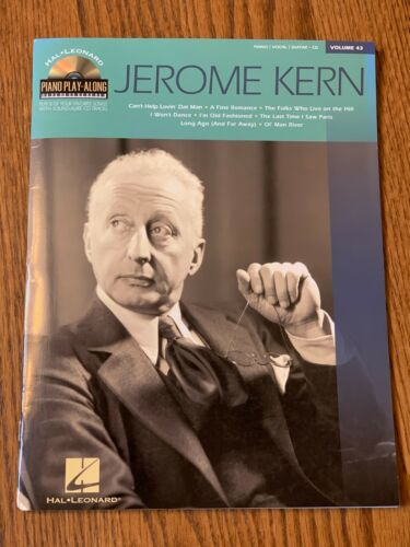 piano//vocal//guitar 8 songs H Leonard song book volume 43 with CD Jerome Kern