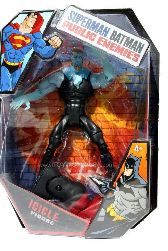 DC Superman Batman Public Enemies Icicle