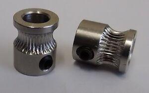 MK8 Antriebsrad 1.75mm & 3mm Filament 3D Drucker Extruder Rolle 5mm Schacht