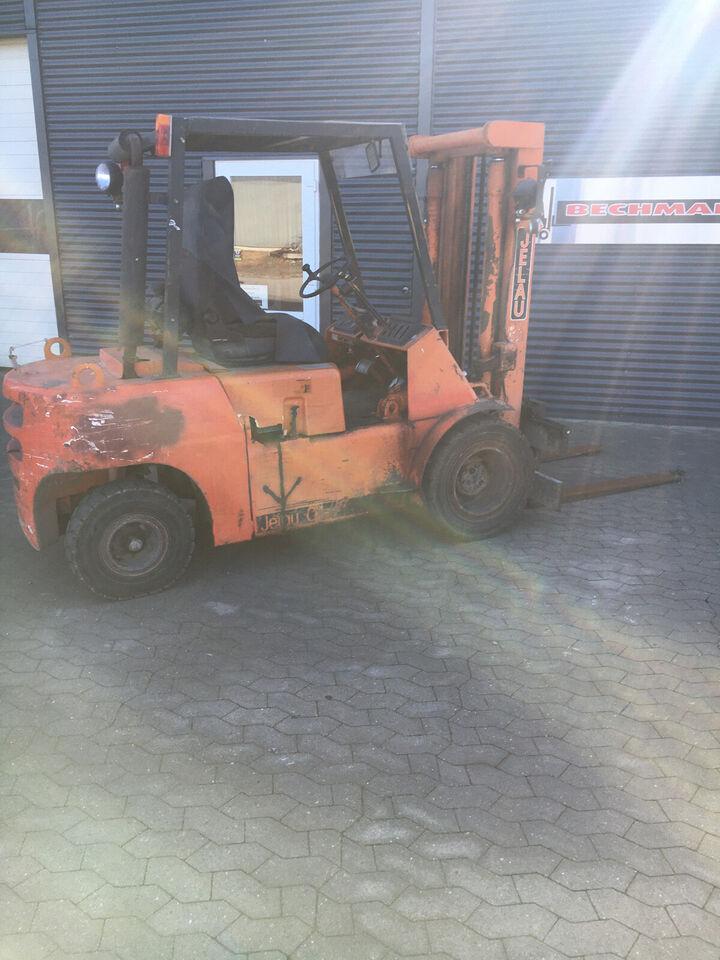 3 tons diesel gaffeltruck