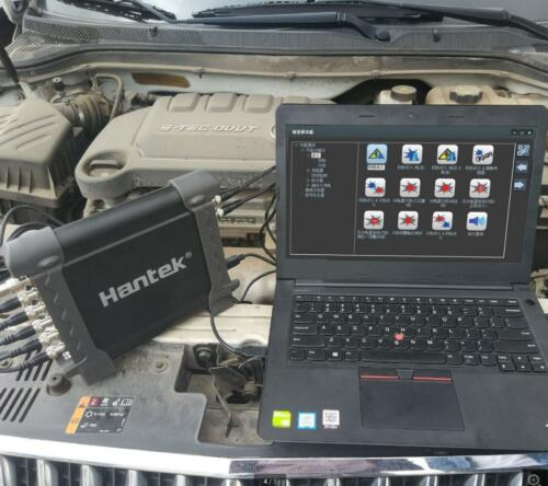 Hantek 1008C USB 8CH Automotive Diagnostic Oscilloscope DAQ Program Generator